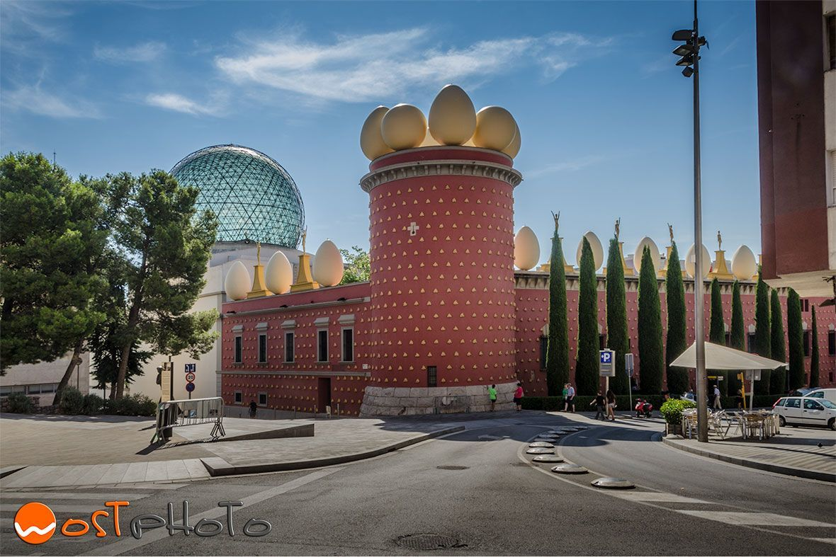 Dali theater museum in Figueres, Spain