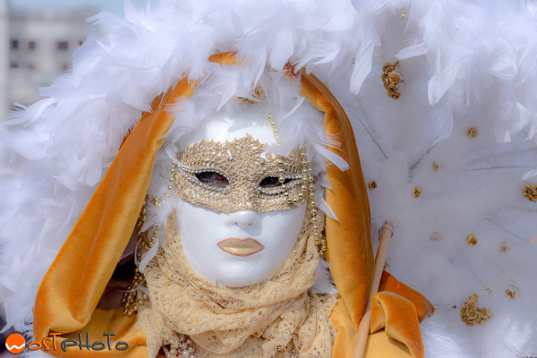 Mask posing at the Carnival in Venice in 2017
