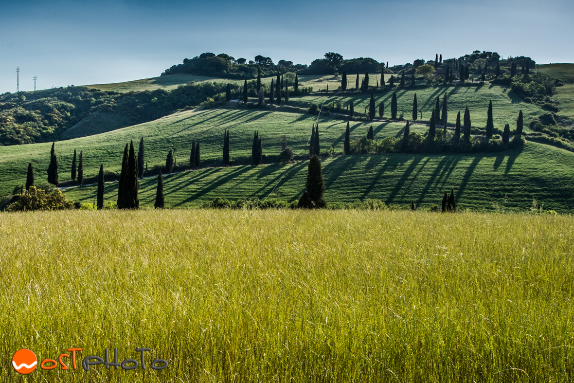 La Foce in Val d'Orcia, Tuscany/Italy