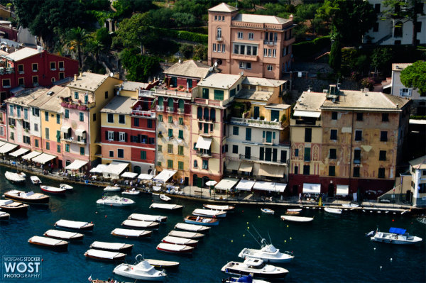 Portofino, Liguria/Italy – View from the castle